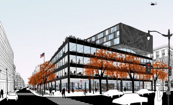 Mecanoo, Martinez + Johnson to renovate MLK Library - The Washington Post