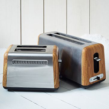 Market Toasters #westelm 4 slice toaster I wouldn't mind having on the counter