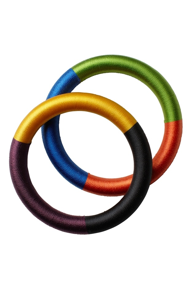 Monki - Silk thread bracelets