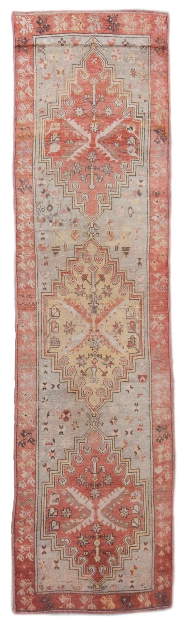 vintage oushak rug 13030   Woven Online