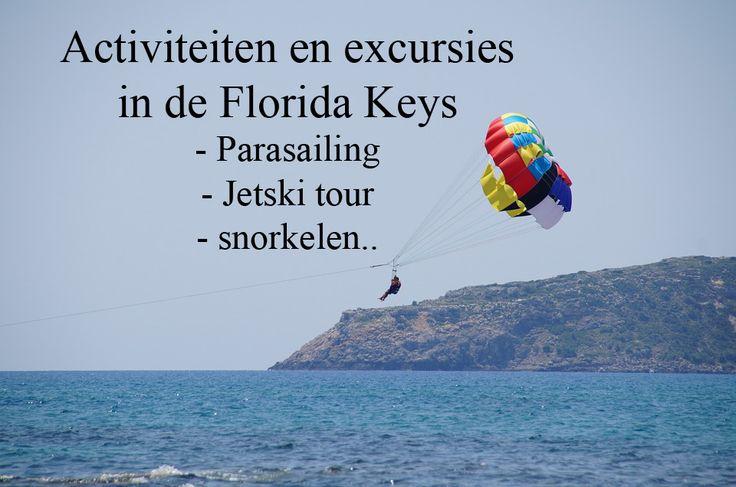 Kijk hier voor leuke en uitdagende excursies in Florida! #Florida #excursie #activiteiten #beach #snorkling #parasailing #travel #traveling #wanderlust #jetski #tour