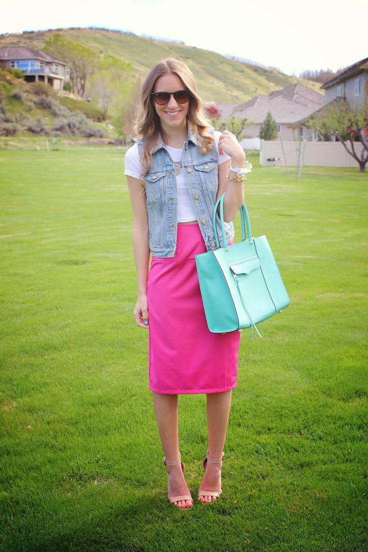 Twenties Girl Style: Crop Tops & Midi Skirts