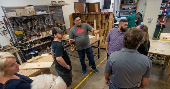 Creators find camaraderie — and lifelong learning — at the Dallas #Makerspace