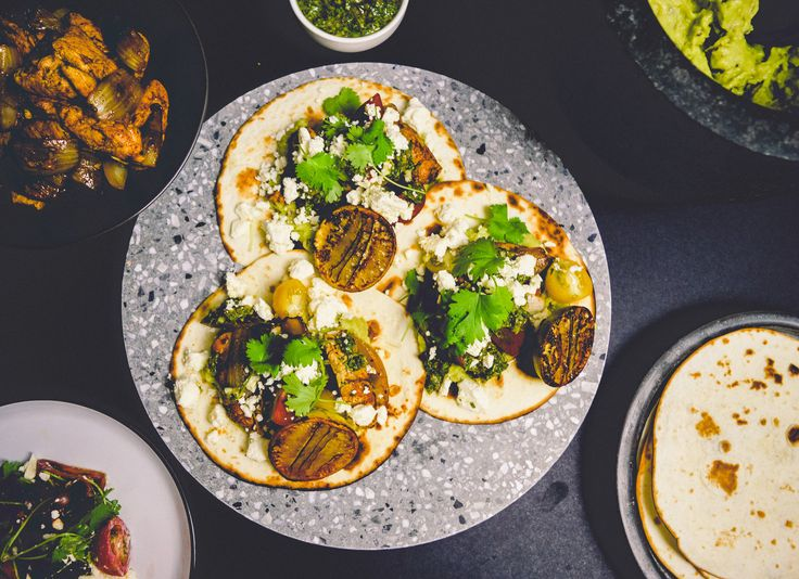 """Has your mouth been looking for that """"wow"""" moment this season? if so, treat your taste buds to these mouthwatering taco's! with crispy chicken, fresh cherry tomatoes and a herb filled salsa verde, these taco's are packed with flavour."""