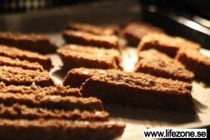 Pepparkaksbiscotti LCHF #jul #recept