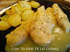 Pechugas de pollo con salsa fácil de limón