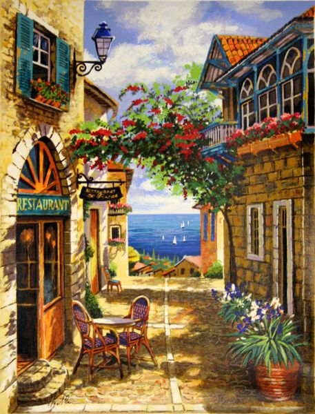 ANATOLY METLAN - ARCHWAY OF RED