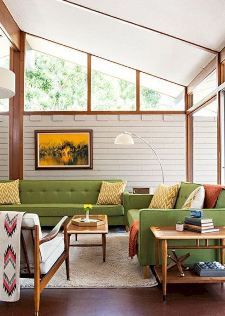 Best 55 Beautiful Mid Century Living Room Decor Ideas House 400 x 300