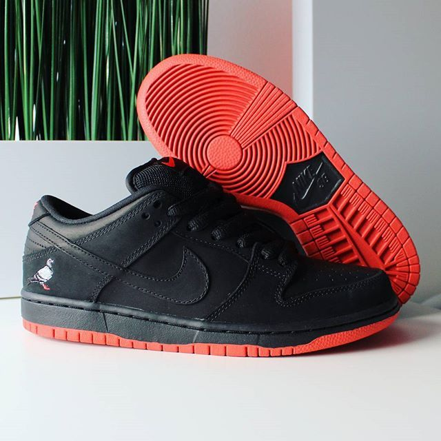 designer fashion 28106 e230b Go check out my Nike SB Dunk Low Black Pigeon 2017 on feet channel link in