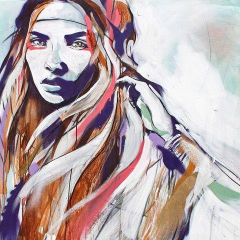 Wolf Drawn Print - Hannah Adamaszek