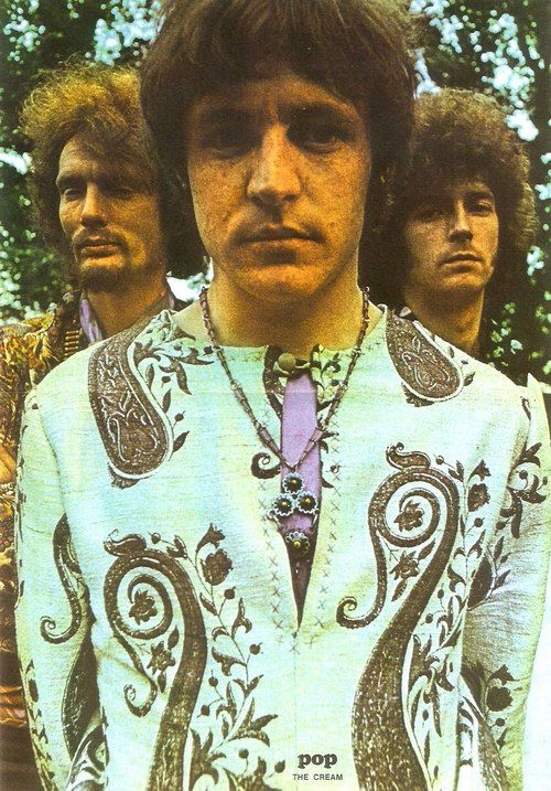Cream - left to right Ginger Baker, Jack Bruce and Eric Clapton