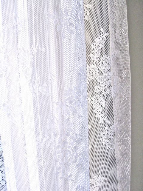 1000+ ideas about White Lace Curtains on Pinterest | Lace curtains ...