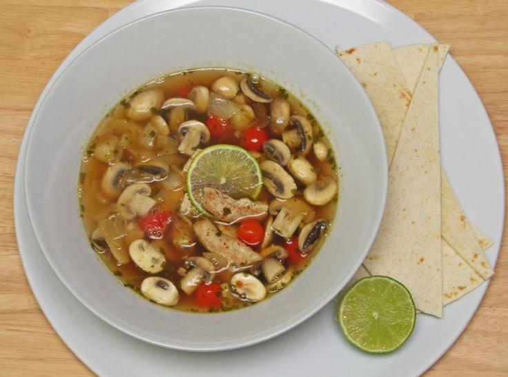 Wonder Wunderbare Küche: Mexikanische Limettensuppe - Sopa de Lima