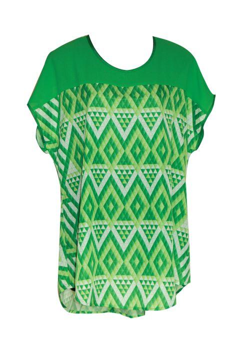 Harakeke Tunic top -Green