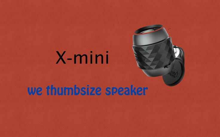 Xmini thumbsize speaker from XML review and unboxing