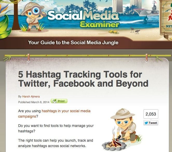 5 Hashtag Tracking Tools for Twitter, Facebook and Beyond