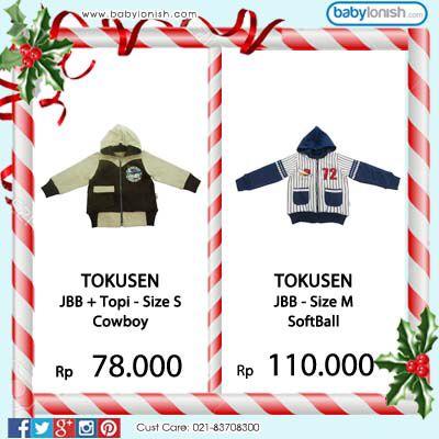 Ini dia jaket lucu dari Tokusen, Dapat digunakan secara bolak balik. Bersertifikat SNI.  www.babylonish.com