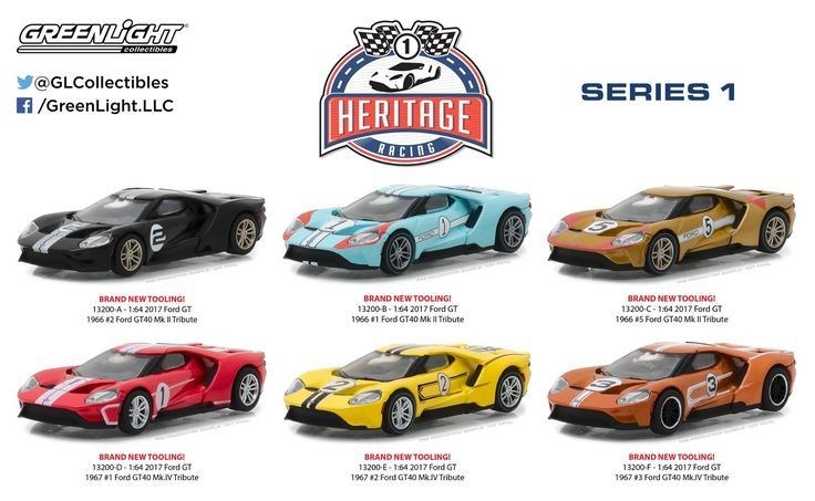 2017/2018 GreenLight Ford GT Heritage Racing Series One