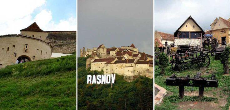 Cetatea Rasnov - una dintre cele mai bine pastrate cetati din Transilvania