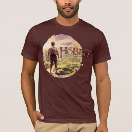 The Hobbit Logo with BAGGINS™ Back T-Shirt - tap to personalize and get yours