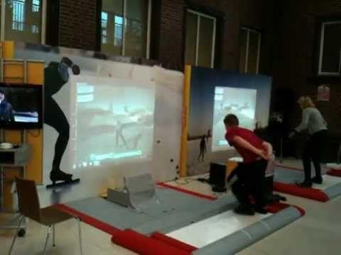 i-Skate schaatsstimulator: er wordt veel gebruik gemaakt van deze training mogelijkheid door professionele schaatsers. Embedded Fitness heeft een dergelijke oefenplank gekoppeld aan een game, waarbij middels sensortechniek de schaatsbeweging wordt omgezet in een voorwaartse beweging. Hierdoor kan men een parcours in een game schaatsen. Het parkoers is een mooie virtuele tour over natuurijs of een wedstrijd in een ijsstadion.