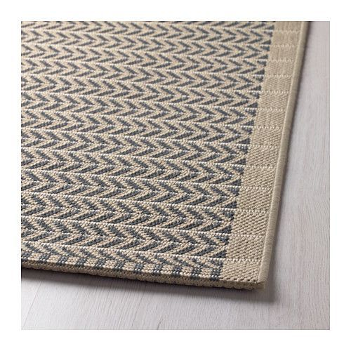 LOBBÄK Rug, flatwoven - made to withstand rain, snow and dirt so should be great in dog room