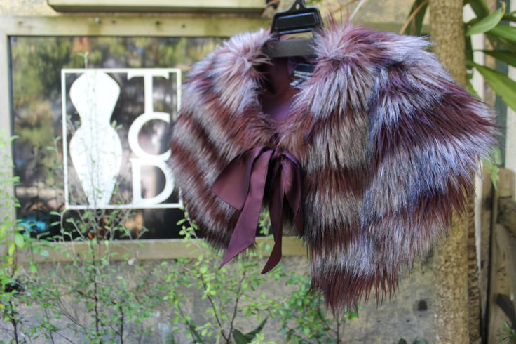 FUR WRAP - ONE SIZE FITS ALL | MADE TO ORDER