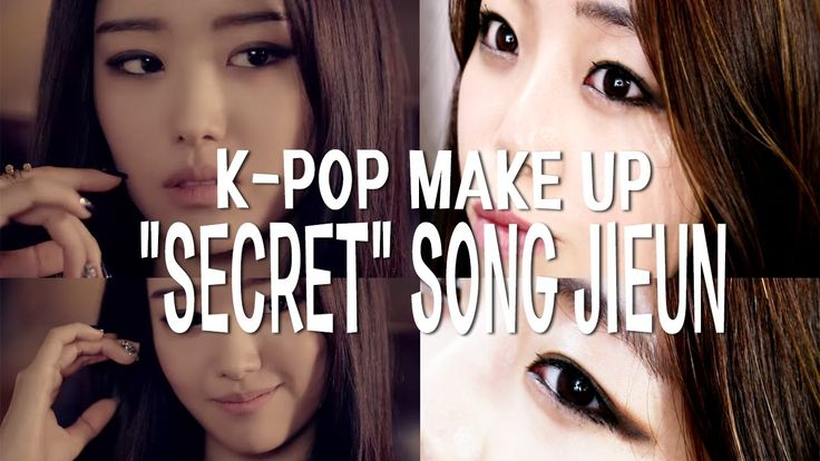 "K-pop makeup tutorial secret songjieun ""I'm in love"" 시크릿 송지은 메이크업"