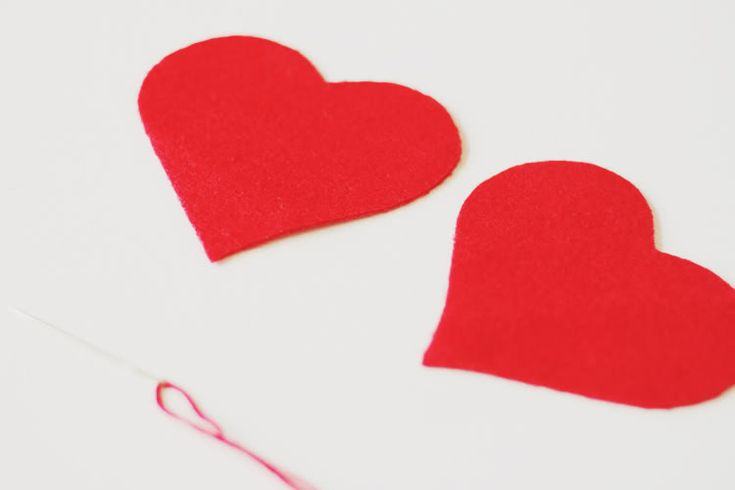 DIY - Felt Heart Elbow Patches - SUPERFICIALGIRLS