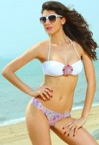Hot Jewel Bandeau Bikini Swimwear