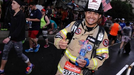 Not only are St. Jude Heroes running for a great cause, St. Jude Heroes run for free, registration fees are waived to focus on training and fundraising.
