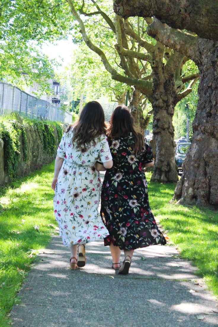 Reeta Dress in Wildflower Viscose Poplin | Blackbird Fabrics Journal | http://www.blackbirdfabrics.com/blog/reeta-dress-in-wildflower-viscose-poplin/