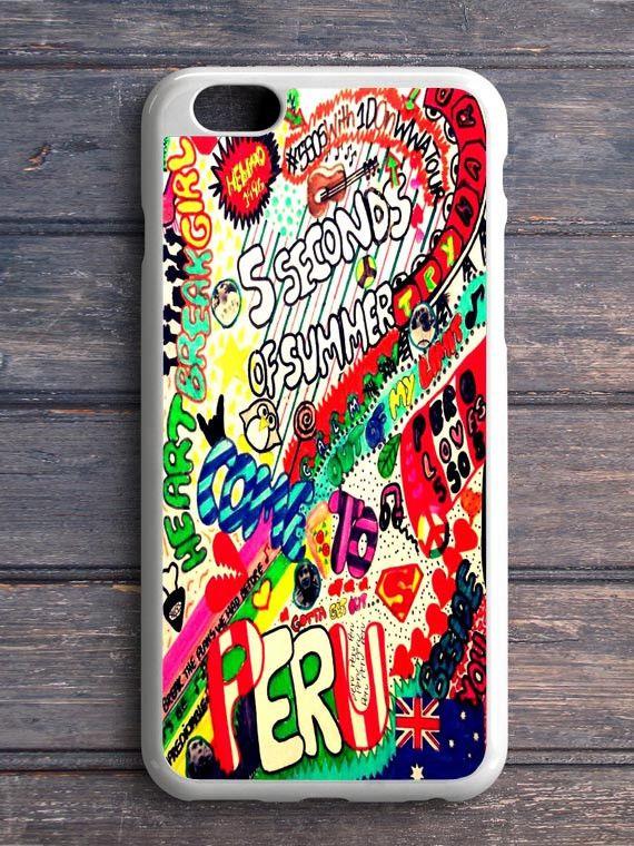 5 Sos Art Color iPhone 5|C Case Custom – CASE HAPPINESS