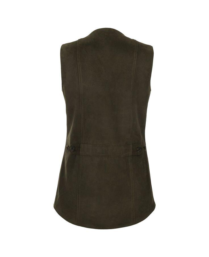 Olive Green Waistcoat