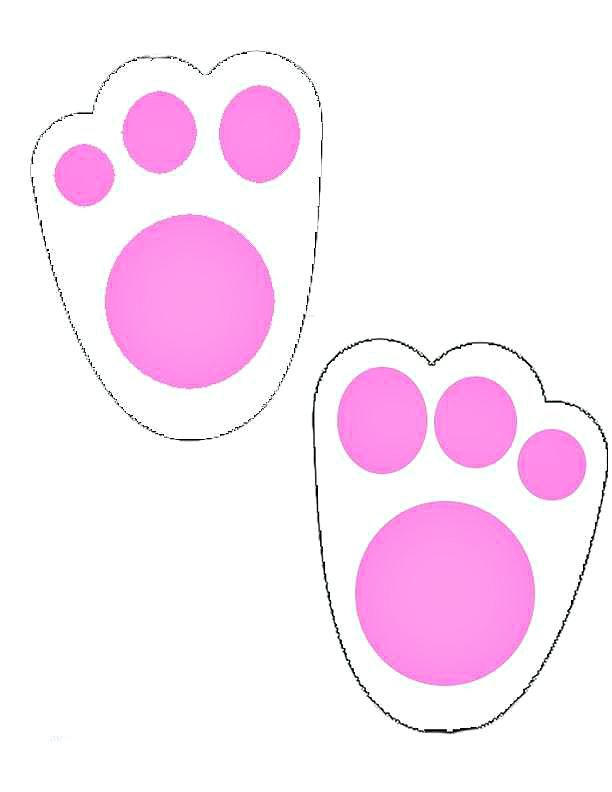 Bunny Tracks Printable for Easter - The Shop by Mama ... (612 x 792 Pixel)