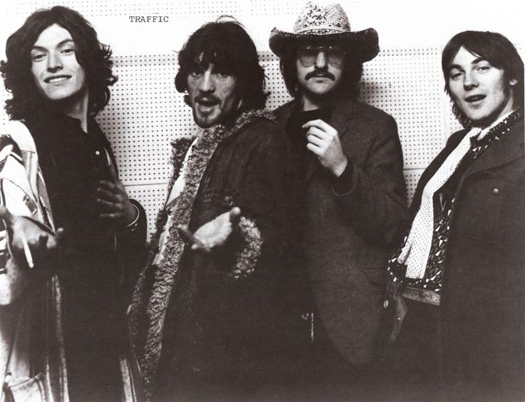 Traffic:1969: Steve Winwood, Jim Capaldi, Dave Mason and Chris Wood