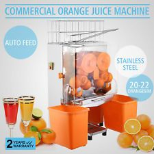 Commercial Electric Orange Squeezer Juicer 120W Machine Stainless Hotels Bar