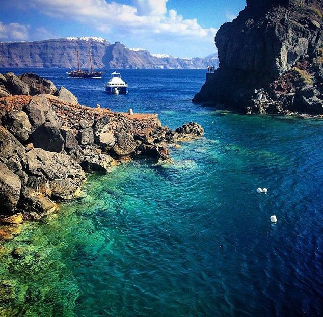 Ammoudi Bay, Oia village, Santorini island, Greece. - Selected by www.oiamansion.com in Santorini.