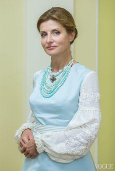 День независимости: наряд Марины Порошенко в деталях | Vogue Ukraine