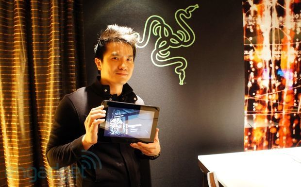 Tablet/console/laptop and outstrips the Surface? interesting. Hands-on with Razer's Edge, a $999 gaming tablet / home console