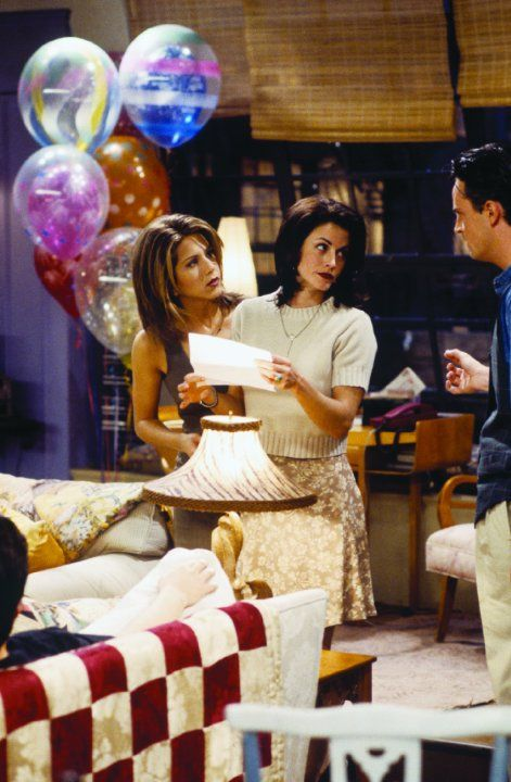 Jennifer Aniston, Courteney Cox and Matthew Perry