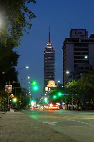 Torre Latinoamericana - Mexico City