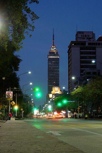 Torre Latinoamericana, D.F. Ciudad de México.