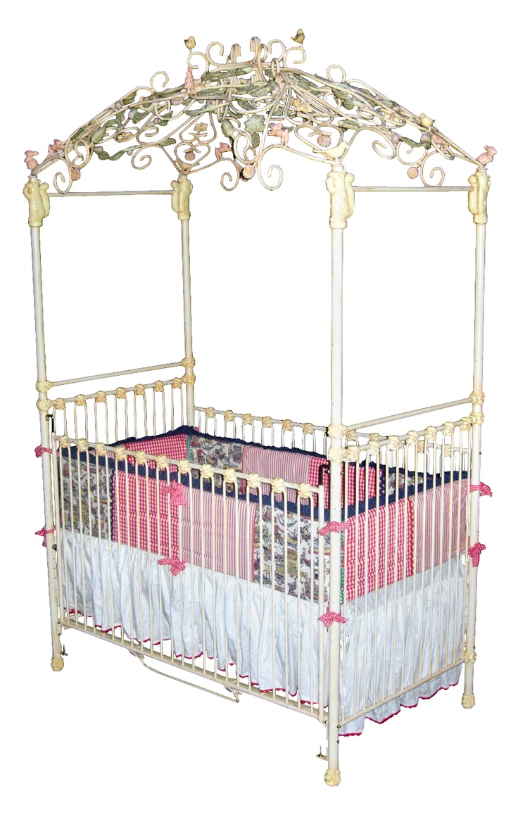 Aurora Iron Canopy Crib at Jack and Jill Boutique.  sc 1 st  Pinterest & 45 best Canopy CribsCradlesBassinets. images on Pinterest | Baby ...