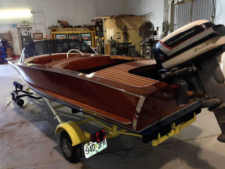 Newly restored 1955 Delta | Runabout boat, Vintage boats ...