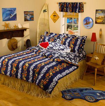 Hawaiian Comforter Bedroom Tropical Duvet Covers