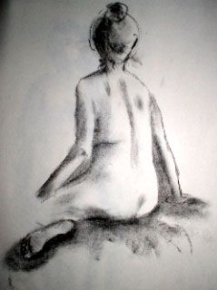 2192 Seated Nude