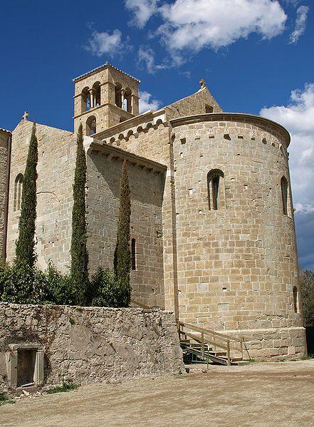 Monasterio de Sant Benet de Bages  Catalonia