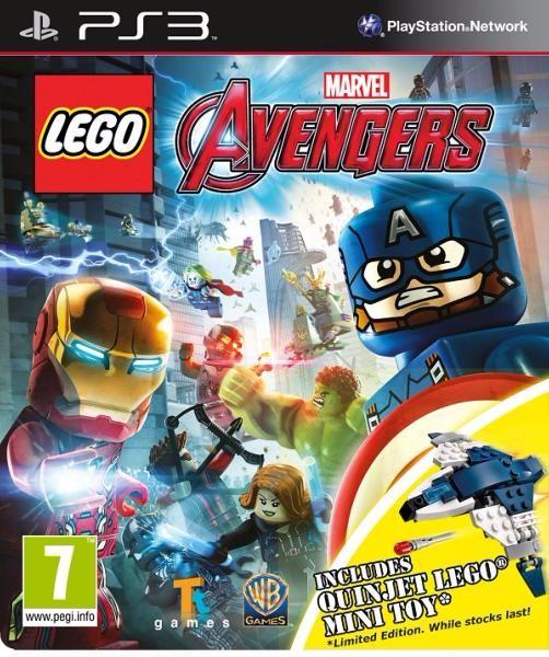 juego ps3 lego avengers