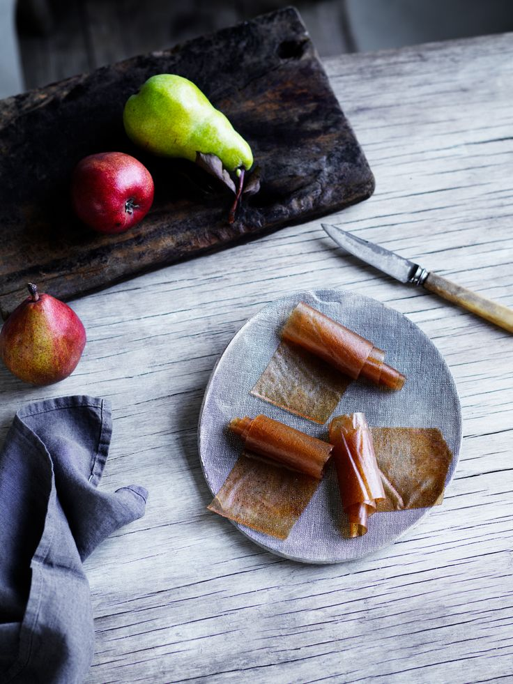 Thermomix | Pear Leathers | Louise Keats Sweet Nourish Cookbook + Recipe Chip |